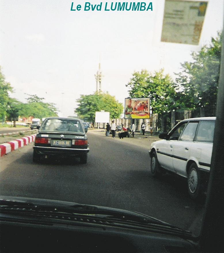 ville de kinshasa boulevard